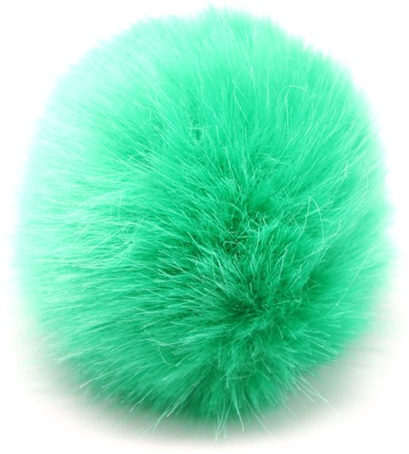 Rico Kunstfell Pompon Medium 9 Green