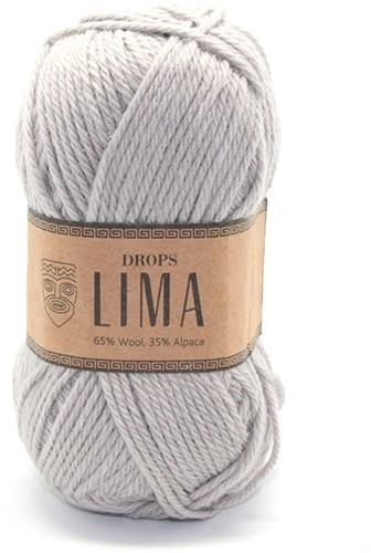 Drops Lima Uni Colour 9010 Hellgrau