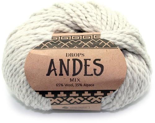 Drops Andes Mix 9020 Hellgrau
