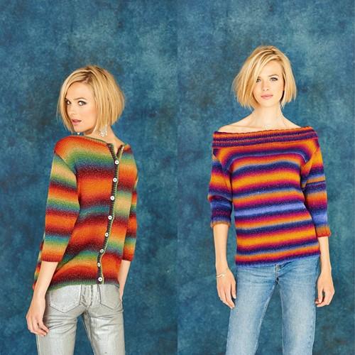 Strickanleitung Stylecraft Cabaret DK No. 9181 Sweaters