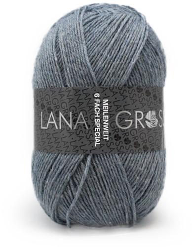 Lana Grossa Meilenweit 6-Fach 150 Mélange 9226