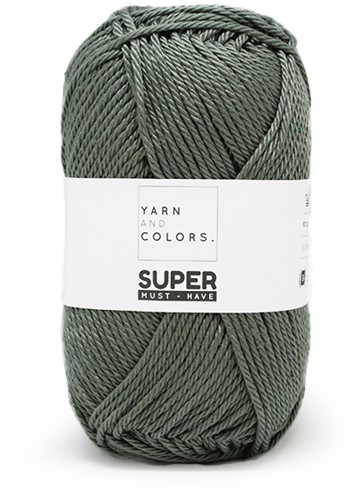 Yarn and Colors Leaf Cushion Häkelpaket 6 Pea Green