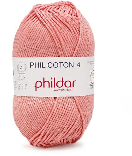 Phildar Phil Coton 4 1144 Rose Saumon