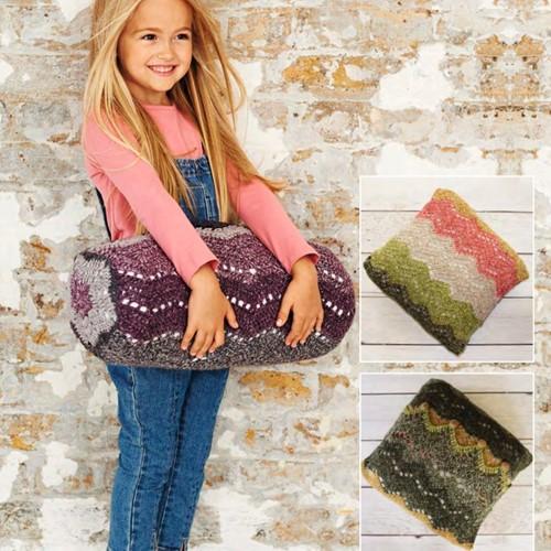 Häkelanleitung Stylecraft Batik Swirl DK No. 9488 Kissen