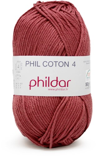 Phildar Phil Coton 4 1198 Rosewood