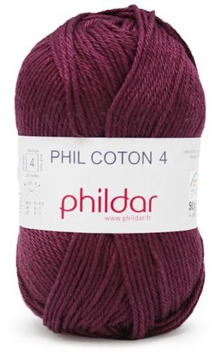 Phildar Phil Coton 4 1158 Prune