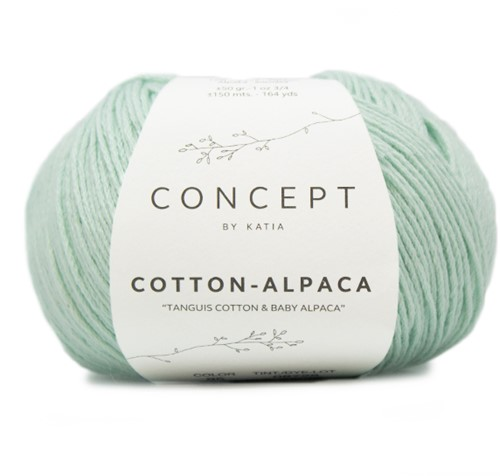Katia Cotton Alpaca 95 Pastel green