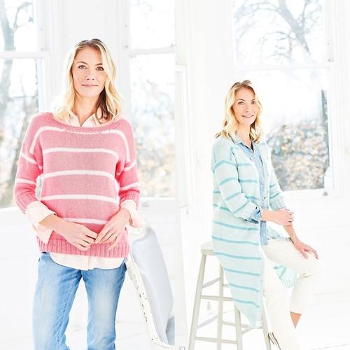 Strickanleitung Stylecraft Naturals - Bamboo + Cotton DK No. 9753 Cardigan & Sweater