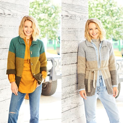 Strickanleitung Stylecraft Highland Heathers DK No. 9795 Cardigans