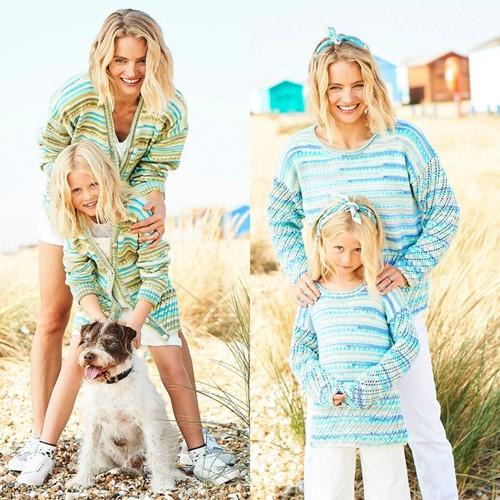 Strickanleitung Stylecraft You & Me DK No. 9822 Pullover und Jacke