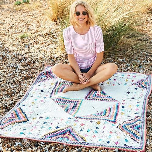 Granny Square Celebration Blanket Häkelpaket