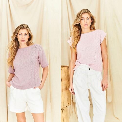 Strickanleitung Stylecraft Naturals - Organic Cotton DK No. 9840 Tops