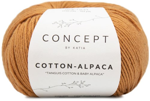 Katia Cotton Alpaca 98 Light brown