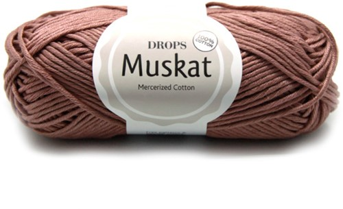 Drops Muskat Uni Colour 09 Light-brown