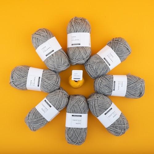 Yarn and Colors Toned Triangle Häkelpaket 5 Wollplatz Edition