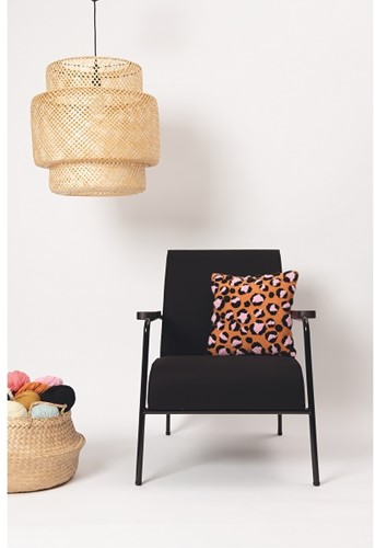 Leopard Kissen Punchpaket 1 Orange/Black/Candy pink