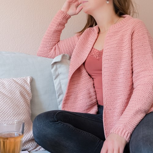 Häkelanleitung Yarn and Colors Afternoon Tea Cardigan