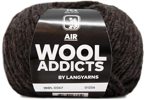 Wooladdicts Balmy Breeze Poncho Strickpaket 4 L/XL