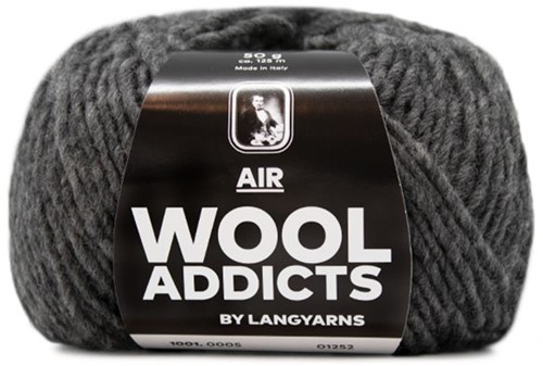Wooladdicts Piff Puff Pullover Strickpaket 6 L