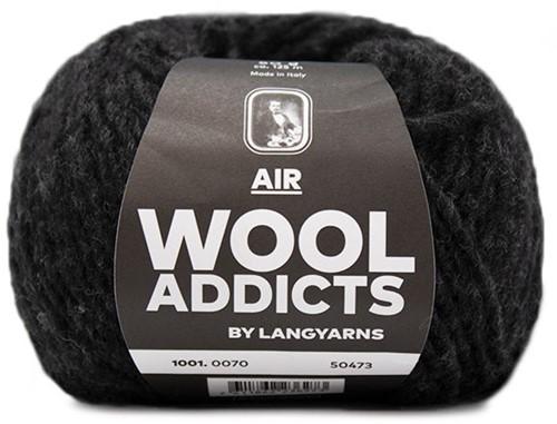 Wooladdicts Mint To Be Zopfschal Strickpaket 7
