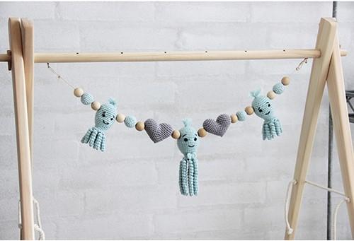 Go Handmade Häkelanleitung Kinderwagenkette Oktopus