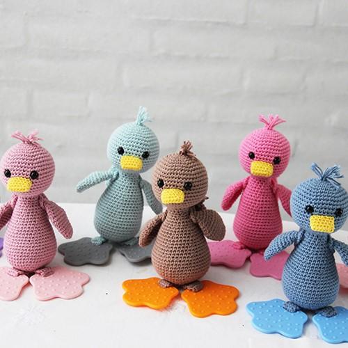 Häkelanleitung Kuschel-Ente Go Handmade