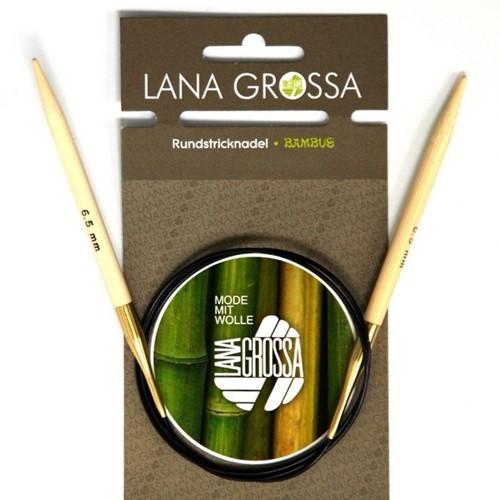 Lana Grossa Bambus Rundstricknadeln 80cm 5.5mm