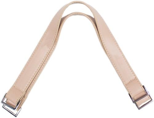 Taschengriffe Silberne Schnalle 42 Beige