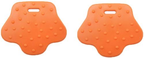 Durable Beißring Tierpfote 693 Orange