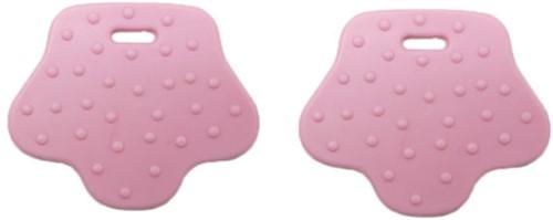 Durable Beißring Tierpfote 749 Pink