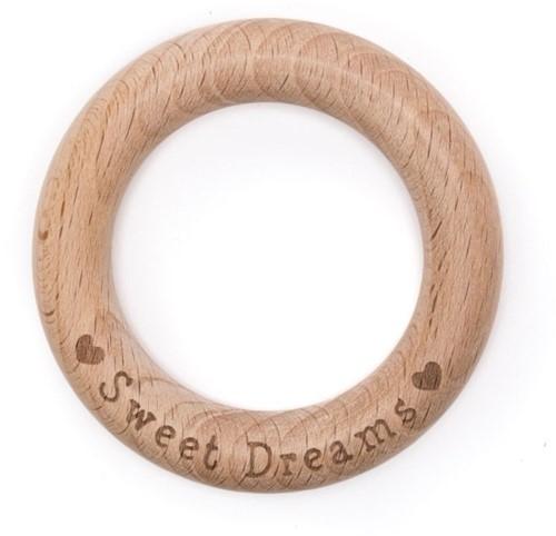 Durable Beißring Holz Sweet Dreams