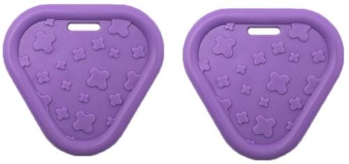 Durable Beißring Triangel 183 Purple