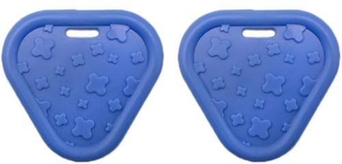 Durable Beißring Triangel 215 Blue