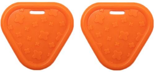 Durable Beißring Triangel 693 Orange