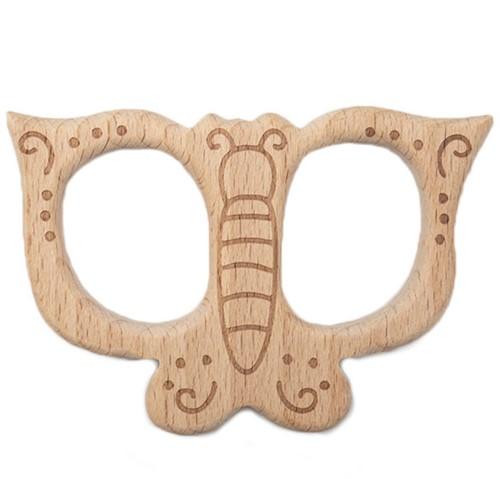 Durable Beißtier Holz Schmetterling