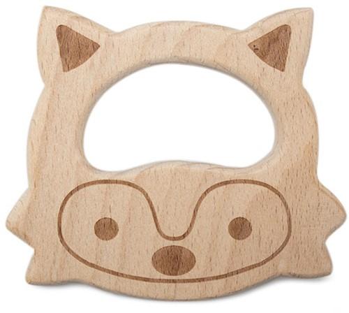 Durable Beißtier Holz Fuchs
