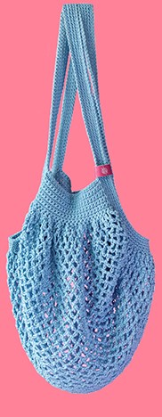 Joly Bag Häkelpaket 4 Himmelblau