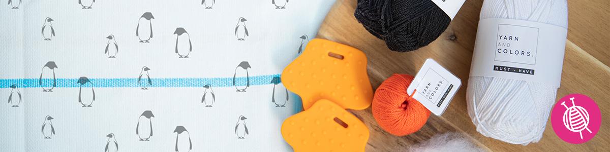 Häkeln oder stricken Sie die süßesten Amigurumi Pinguine!