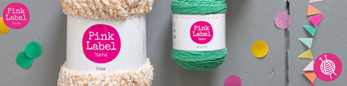Häkeln und Stricken Sie mit der eigenen Garnmarke von Wollplatz: Pink Label!