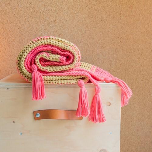 Yarn and Colors Boho Blanket Häkelpaket 041 Coral