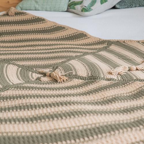 Häkelanleitung Yarn and Colors Boho Blanket