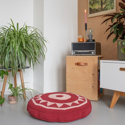 Yarn and Colors Boho Floor Cushion Häkelpaket