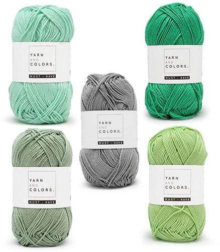 Yarn and Colors Must-Have Boho Wall Hanging Häkelpaket 1 Small
