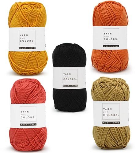 Yarn and Colors Must-Have Boho Wall Hanging Häkelpaket 2 Small