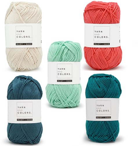 Yarn and Colors Must-Have Boho Wall Hanging Häkelpaket 3 Small