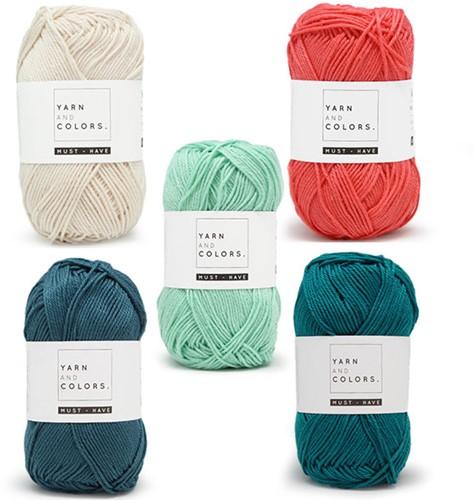 Yarn and Colors Must-Have Boho Wall Hanging Häkelpaket 3 Big