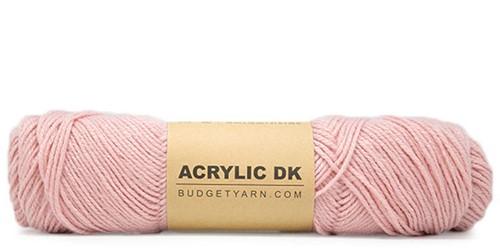 Budgetyarn Acrylic DK 047 Old Pink