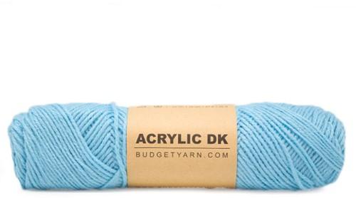 Budgetyarn Acrylic DK 064 Nordic Blue