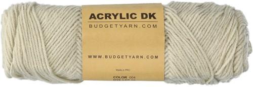 Budgetyarn Acrylic DK 004 Birch