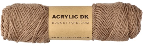 Budgetyarn Acrylic DK 006 Taupe